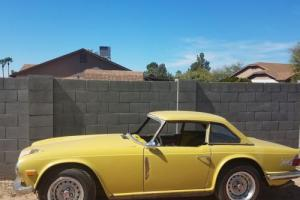 1973 Triumph TR-6 Hardtop Photo