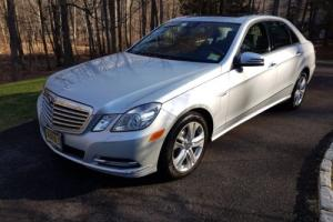 2011 Mercedes-Benz E-Class E350 Sport BlueTEC Diesel GPS Navi Sunroof Leather Heated seats