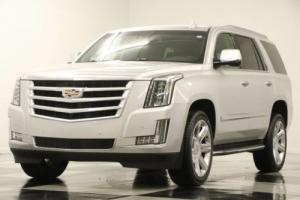 2016 Cadillac Escalade 4X4 Luxury Sunroof GPS Leather Radiant Silver 4WD