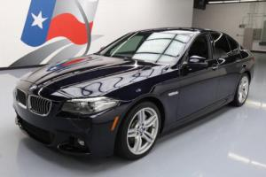 2014 BMW 5-Series 535I M SPORT LINE SUNROOF NAV HUD REAR CAM