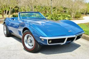 1968 Chevrolet Corvette Convertible L/79 Numbers Matching 327/350hp