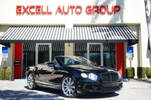 2014 Bentley Continental GT 2dr Convertible Photo