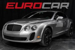 2010 Bentley Continental GT Supersports ($281,015.00 M.S.R.P.) Photo