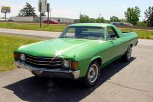 1972 Chevrolet El Camino 72 EL CAMINO PICK UP TRUCK