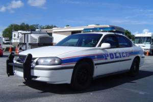 2002 Chevrolet Impala police