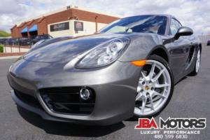 2016 Porsche Cayman 16 Porsche Cayman Coupe with ONLY 10k Miles!