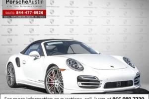 2015 Porsche 911 2dr Cabriolet Turbo
