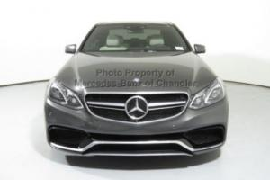 2014 Mercedes-Benz E-Class 4dr Sedan E63 AMG S-Model 4MATIC