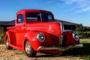 """1941 FORD PICKUP 350 SBC 700R 9"""" MUSTANG II IFS FRONT DISC BRAKES FULL NSW REGO"""