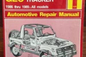 Haynes Suzuki Sierra 1986-9 Repair Manual Photo