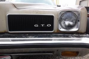 1973 Pontiac GTO GTO 4 SPEED
