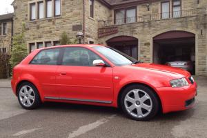 Audi S3 in Absolute Red - unmolested example with extensive history folder