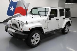 2012 Jeep Wrangler SAHARA HARD TOP 4X4 6-SPEED NAV