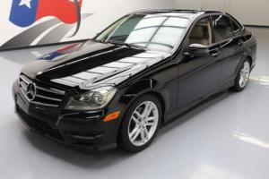 2014 Mercedes-Benz C-Class C250 SPORT TURBO SUNROOF NAV
