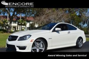 2012 Mercedes-Benz C-Class 2dr Coupe C63 AMG RWD W/Mutimedia Package