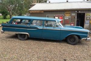 1959 Ford Ranch Wagon ** 302 LPG/Petrol ** RHD ** Rare Car **