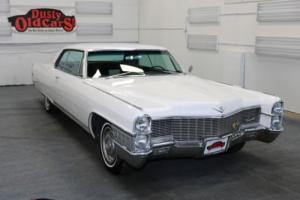 1965 Cadillac Calais Coupe Runs Drives Body Int VGood 429V8 3 spd auto
