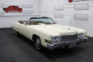 1974 Cadillac Eldorado Runs Drives Body Int Good 500V8 3spd auto Photo