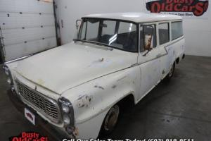 1961 International Travelall Frame Body Excel Inter Gd Resto