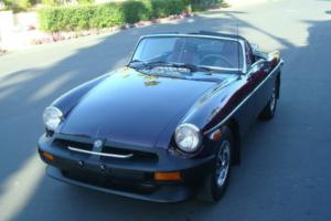 1978 MG MGB Roadster Photo