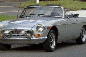 1971 MG MGB MGB AND MATCHING TRAILER