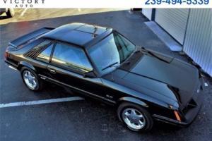 1986 Ford Mustang GT 3-Door Runabout
