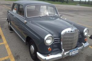 1960 Mercedes-Benz 190-Series Photo