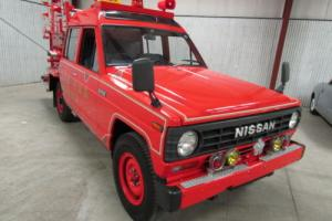 1985 Nissan Other Pickups Firetruck 4WD