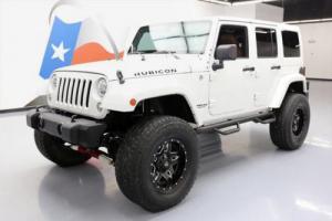 2014 Jeep Wrangler UNLTD RUBICON 4X4 LIFTED NAV