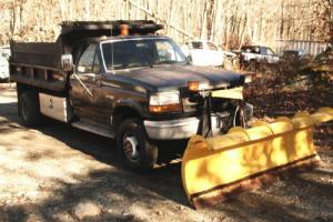 1994 Ford F-350 DUMP TRUCK SNOW PLOW TRUCK