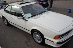 1989 BMW 6-Series