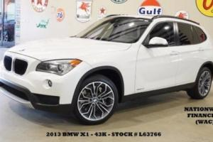 2013 BMW X1 xDrive35i PANO ROOF,NAV,BACK-UP,HTD LTH,H/K SYS,43K,WE FINANCE