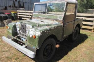 "Land Rover Series 1 1952 80"" short wheel base RARE complete"