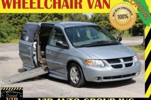 2003 Dodge Grand Caravan Sport Handicap Braun Wheelchair Van