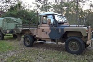 Land Rover Series 2a Ex Army Workshop 3/4 ton Photo