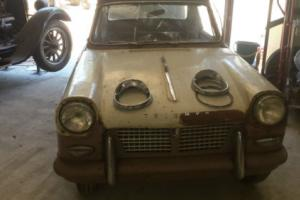 TRIUMPH HERALD 1959 VERY RARE CAR UNTOUCHED[ WATCH  YOUTUBE LINK ]