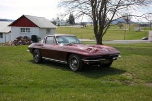 1965 Chevrolet Corvette BlackTagCaliCarUnrestoredAllOriginal