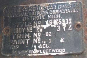 1949 Cadillac Fleetwood 49-7533X