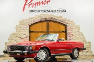 1989 Mercedes-Benz 560-Class 560 SL Only 26,000 Miles, Collector Quality! Photo