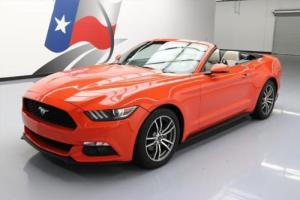 2015 Ford Mustang ECOBOOST PREMIUM CONVERTIBLE AUTO