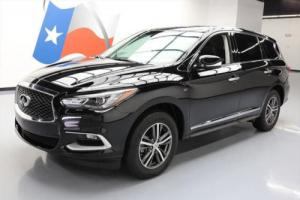 2016 Infiniti QX60 AWD SUNROOF REAR CAM HTD LEATHER