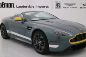 2015 Aston Martin Vantage V8 GT Convertible CERTIFIED WARRANTY