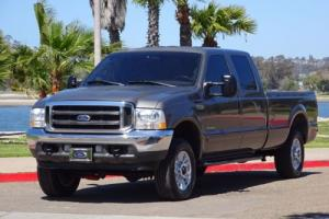 2002 Ford F-250 Lariat 7.3L DIESEL 4X4 4WD CREW CAB LONG BED