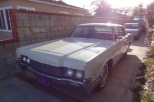 1966 Lincoln Continental Suicide Door Sedan