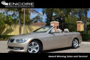 2013 BMW 3-Series 335i Convertible W/Premium Package and Navigation