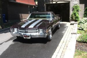 1971 Chevrolet El Camino sport coupe
