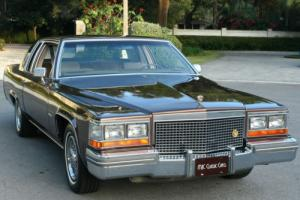 1981 Cadillac DeVille COUPE - TWO OWNER - 35K MILES