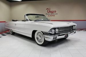 1962 Cadillac DeVille Series 62 Convertible
