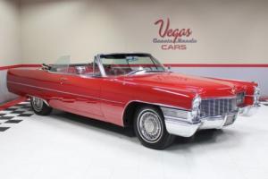 1965 Cadillac DeVille Convertible Photo