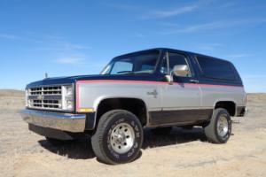 1987 Chevrolet Blazer K5 Silverado